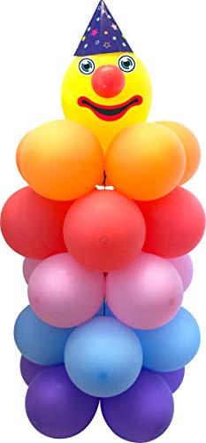 Juego de globos de payaso, 120 x 55 cm