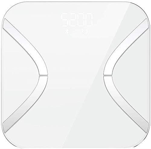 DJY-JY Gewicht Skala Herzfrequenz Körperfettwaage USB Ladegerät Genauigkeit der Körperfettwaage Haushalts Gewicht Männliche und weibliche elektronische Waagen