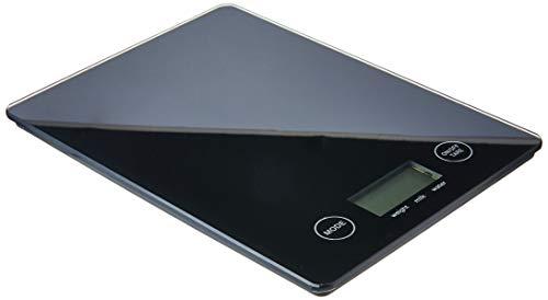 Balança Digital Vidro para Cozinha Mimo Style Preto