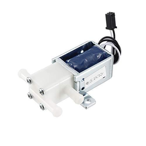 Mini elettrovalvola 2 posizioni 3 vie DC12 V 0,17 A elettrovalvola aria acqua