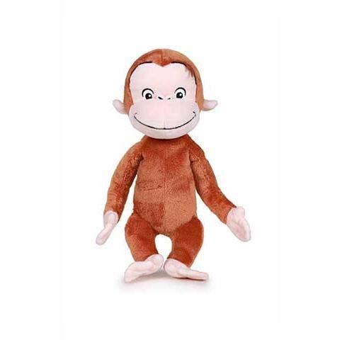 Famosa Curioso Come George Peluche 18Cm Peluches Animali del Bosco, Foresta, Multicolore, 8410779682116