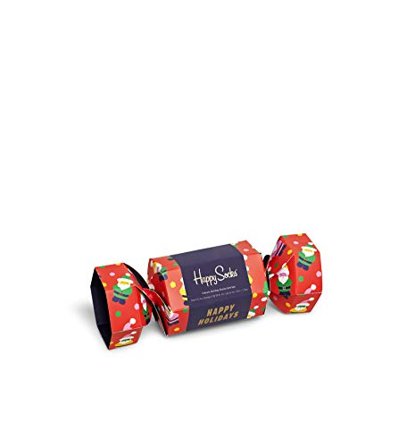 Happy Socks Unisex Christmas Gift Box Socken, Multi, 4-11 (41-46)
