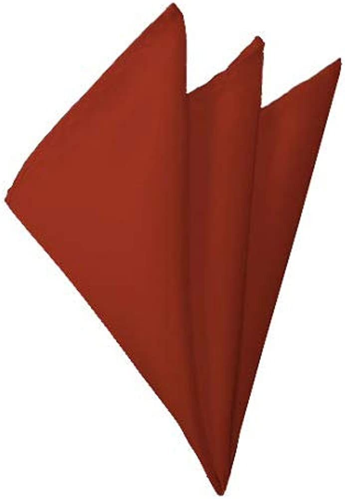 Oakland Mall Solid Rust Handkerchief Max 61% OFF