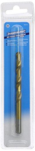 Silverline 585474 HSS Titanium-Coated Drill Bit 8.0 mm