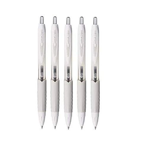 Uni-ball Signo 207Gel retráctil pluma de tinta, Ultra Micro punto 0,38mm, tinta negra, umn-307–38, valor conjunto de 5con la ecología notas adhesivas