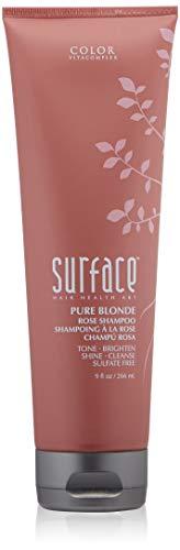 Surface Hair Pure Blonde Rose Shampoo, 9 Fl Oz