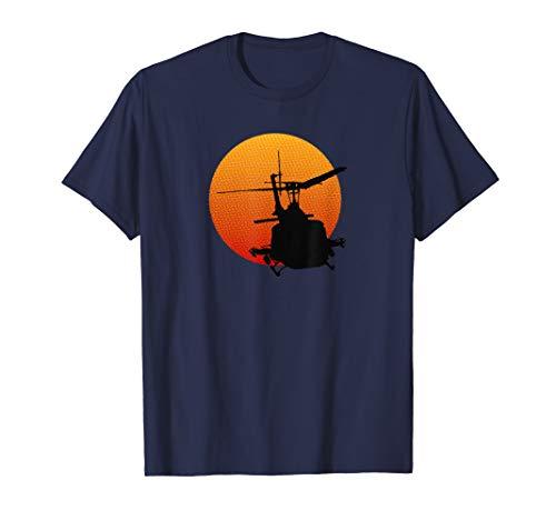 UH-1 Iroquois Huey Hubschrauber Militärgeschichte T-Shirt