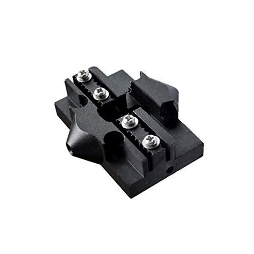 iplusmile Efector de Plataforma - Plataforma Elevadora de Hamaca con Indicador de Deslizamiento de Metal Polea Duradera Efector Delta para Impresora 3D Accesorios de Piezas de Impresora 3D