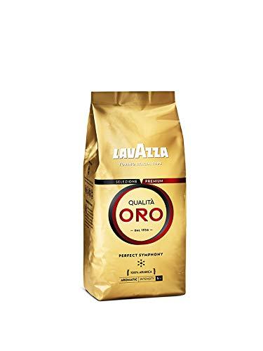 Lavazza Qualità Oro, 100% Arabica Medium Roast Coffee Beans, Pack of 500g