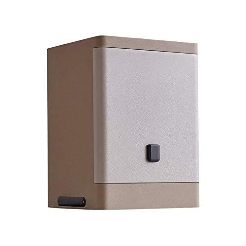 CHUXJ Inicio del Teclado Caja de Seguridad - Caja de Seguridad 3C Certificado Oficina en casa de Huellas Dactilares de desbloqueo Grande sólido Todo el Acero antirrobo Segura