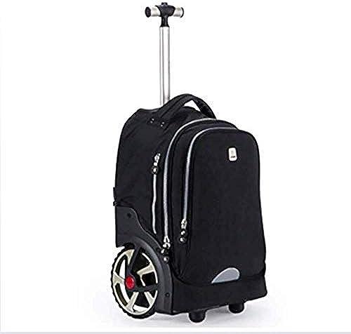 Bvc Jungen mädchen Rolling Schulrucks e – wasserdicht Trolley Schultasche Outdoor Reisen Nylon Kinder Reisetasche
