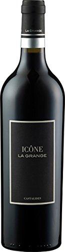 Icône Castalides AOC Rotwein aus Frankreich - Languedoc, La Grange, Rebsorte: Syrah, Grenache, Jg. 2015, (1 x 0,75 l)