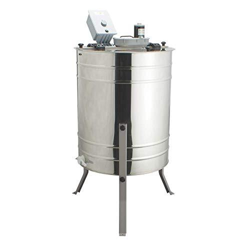 LYSON| Extractor de Miel Fabricado en Acero Inoxidable, 4 cuadros, UNIVERSAL, Tangencial, Electrico, 230V ApiTienda