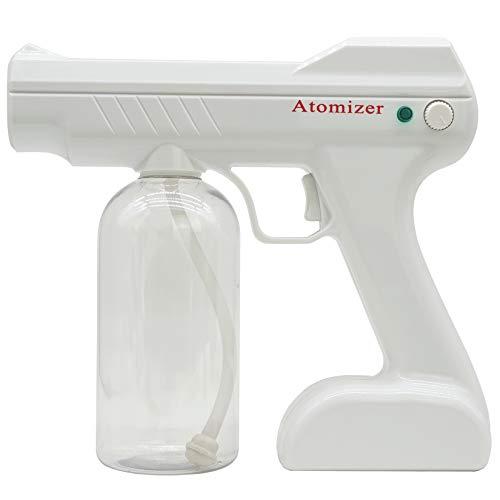 アルコールスプレー噴霧器 電動スプレー 噴霧器 800ml USB充電式 スプレーガン 園芸 水やり掃除に最適