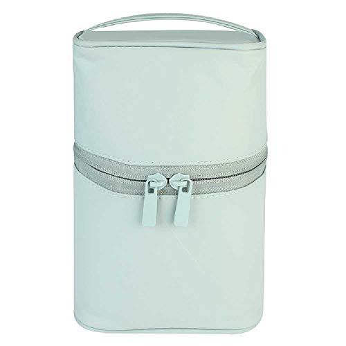 Tragbare wasserdichte Hand Make-up-Tasche - Vertikale Zylindrische Kulturbeutel Travel Kit,...