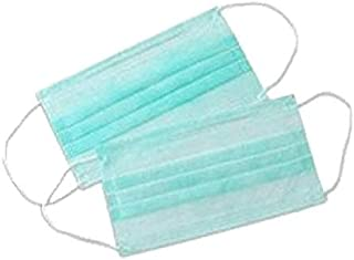 Anti Pollution Disposable Surgical Face mask(100 Pack) with Earloop, Germ, Dust Protection, Anti Bacterial