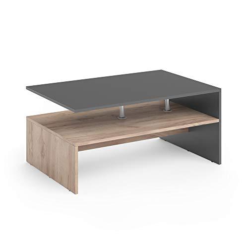 tavolino da salotto rovere Vicco Tavolino da divano Amato Tavolino da salotto Rovere Sabbia Antracite Tavolino
