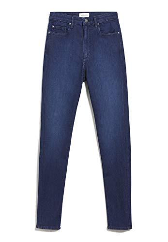 ARMEDANGELS INGAA X Stretch - Damen Jeans aus Bio-Baumwoll Mix 30/34 Sea Blue Denims / 5 Pockets Skinny Skinny Fit