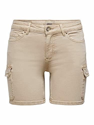 Only ONLMISSOURI REG Life Cargo Shorts PNT Pantalones Cortos de Jean, Humus,...
