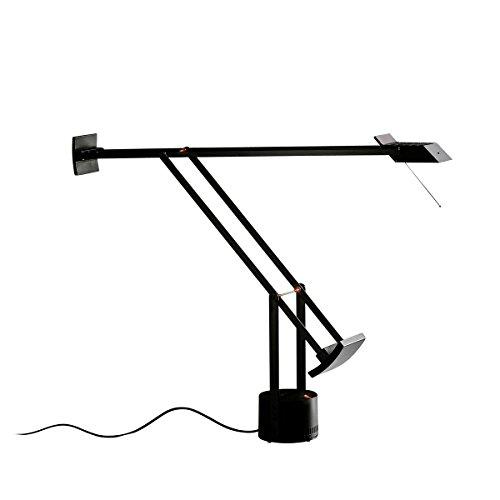 Sforzin – lampe de mur, verre, noir et blanc
