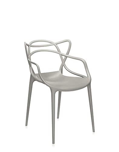 Kartell Masters, stol, grå, uppsättning av 2