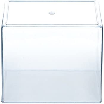 "Aquarium Tank - Small - Molded Plastic - .75 Gallon Capacity - 7"" x 6"" x 4.25"""