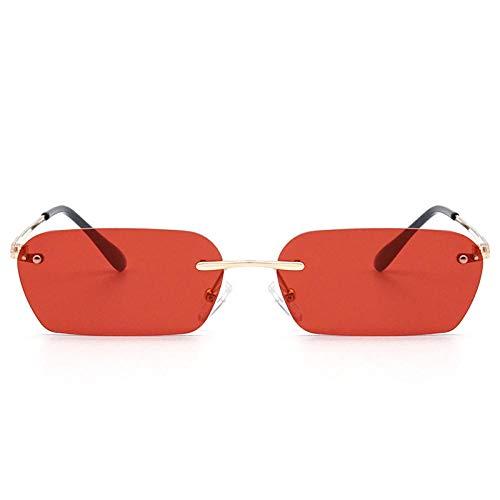 Gafas de sol Gafas de sol Gafas de sol con montura grande de pareja cuadrada de tendencia europea y americana-Montura plateada Película negra y gris