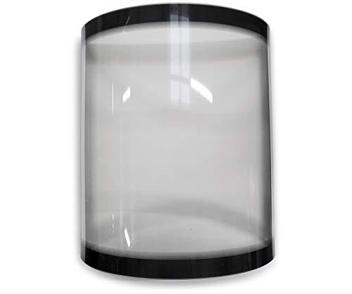 Sichtscheibe A für Koppe Nexus Kaminöfen - Glaskeramik - Passgenaues Kaminofen Ersatzteil