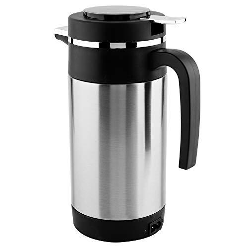 Bouilloire électrique, Bouilloire à thé électrique, Acier Inoxydable 1000ML 12V antirouille et Durable pour Tasse de Chauffage de l'eau de thé de café