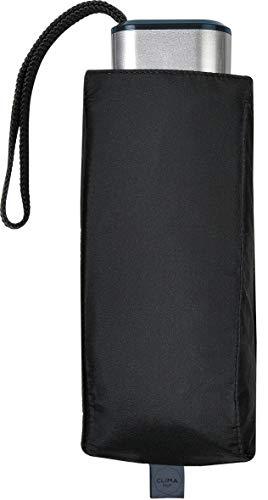 M&P - Paraguas Plegable Manual | Paraguas Antiviento Ideal para Viajes, Hombre y Mujer, Negro