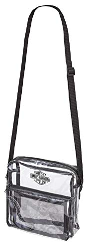 HARLEY-DAVIDSON Security Messenger Bag Sling Tote, farblos (Transparent) - 99662-CLEAR
