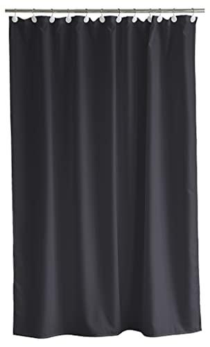 Södahl Comfort Duschvorhang 180x200 cm, Wasserabweisend, Ash