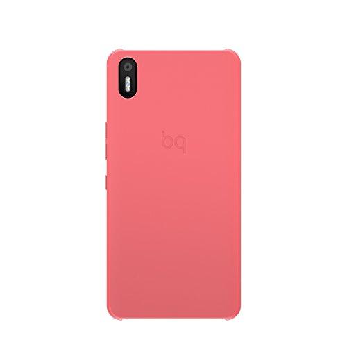 bq E000644 Aquaris X5 Candy Schutzhülle für Smartphone rosa