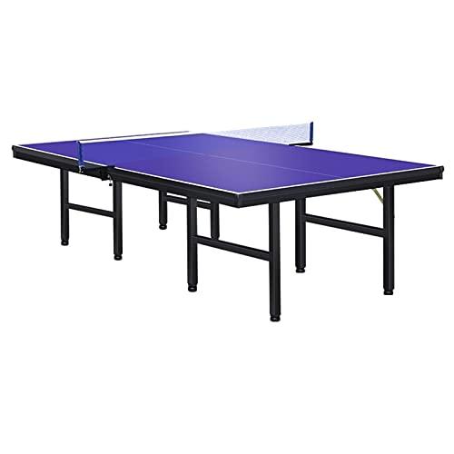 Mesa De Ping-Pong Plegable, Mesa De Ping Pong Al Aire Libre del Parque, Tablero De Mesa A Prueba De Lluvia Y UV, El 152,5x274x76cm