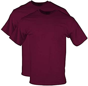 2-Pack Gildan Men's DryBlend Workwear T-Shirts with Pocket