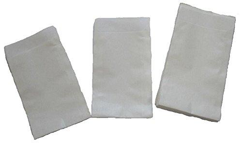 Papiertüten weiß flach 8,5 x 11,5cm (1000St.) von BLÜHKING®