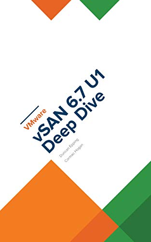 vSAN 6.7 U1 ebook available for 4.99 USD and paper copy for 19.99!