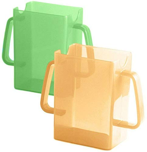 Mommy's Helper Juice Box Buddies, 2 Count, Orange & Green