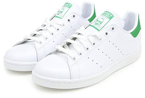 adidas Originals Stan Smith, Zapatillas de Deporte Unisex Adulto, Blanco (ftwr blanco / core blanco / verde), 38 2/3 EU