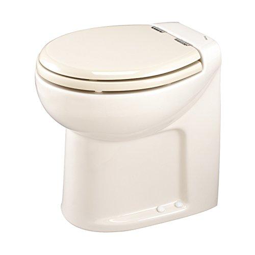 Thetford Tecma Silence 38045 WC-Garnitur mit Wasserpumpe, 1 Modus, 12 V, hoch, Knochen