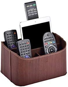 Remote Control Holder Large Capacity Tv Remote Desktop Orgainizer Remote Ipad Caddy Storage product image