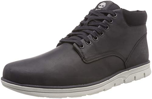 Timberland Bradstreet Leather Sensorflex, Baskets Chukka Homme, Grau (Phantom Saddleback M45),43 EU