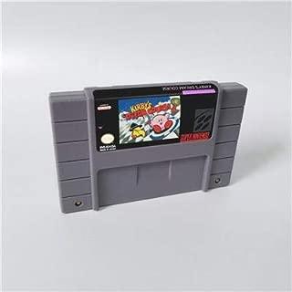 Game card - Game Cartridge 16 Bit SNES , Game Kirby's Dream Course - RPG Game Card US Version English Language