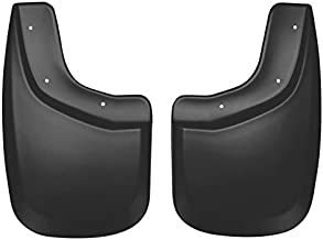Husky Liners Fits 2004-12 Chevrolet Colorado, 2004-1 GMC Canyon - with Large (wide/thick) Flares Custom Rear Mud Guards,Black,57811