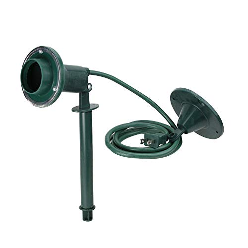 Stanley LampMax Deluxe Outdoor Flood Lamp Holder with Ground Stake