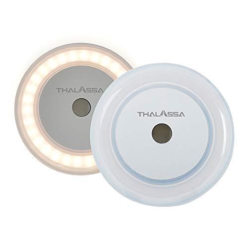 3 W Wohnmobil Innenleuchte Touch Deckenlampe LED – Soft White Memory Lampe mit blauem Nachtlicht, Oberflächenmontage, versteckte Befestigungselemente für Boot, 2 Stück