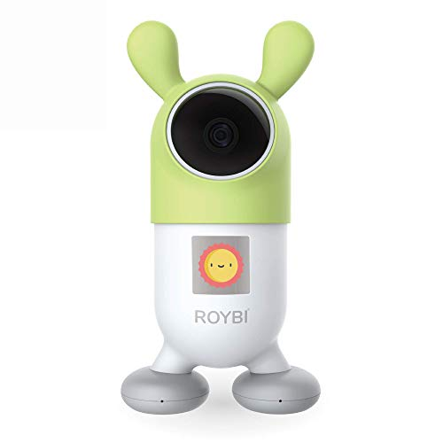 ROYBI Robot Smart Educational Learning Robot & Tutor for Kids, Teaching STEM/STEAM, Developing Language Skills and Conversational Device, Best AI Teaching Toy for 3-7 Years Old, Preschool Girls & Boys