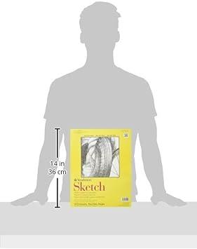 9 by 12 Strathmore STR 100 Sheet Sketch Plus 9 x 12
