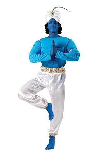ORION COSTUMES Disfraz de Genio Azul de Película para Hombres