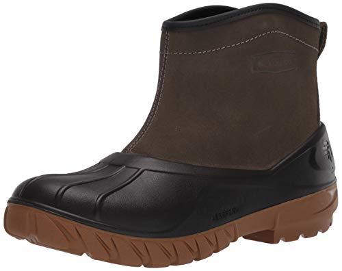 "LaCrosse Men's 664532 Aero Timber Top Slip-On 6"" Outdoor Boot, Gray/Black - 12 D"